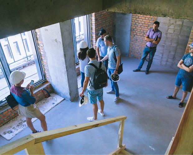 Photo Client control of construction